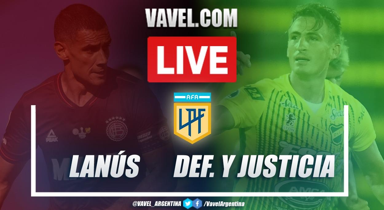 Resumen Lanús (2-1) Defensa y Justicia por la fecha 2 de la Copa de la Liga Profesional 2021