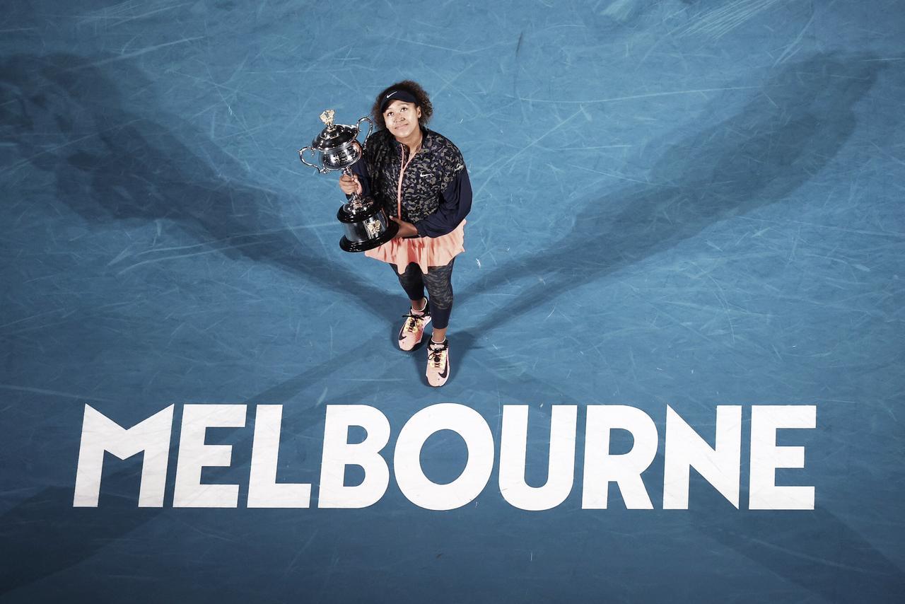 Osaka bate Brady e conquista Australian Open pela segunda vez na carreira