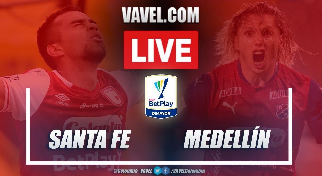 Resumen Santa Fe vs Medellín (0-0) en la fecha 8 por Liga BetPlay 2021-I