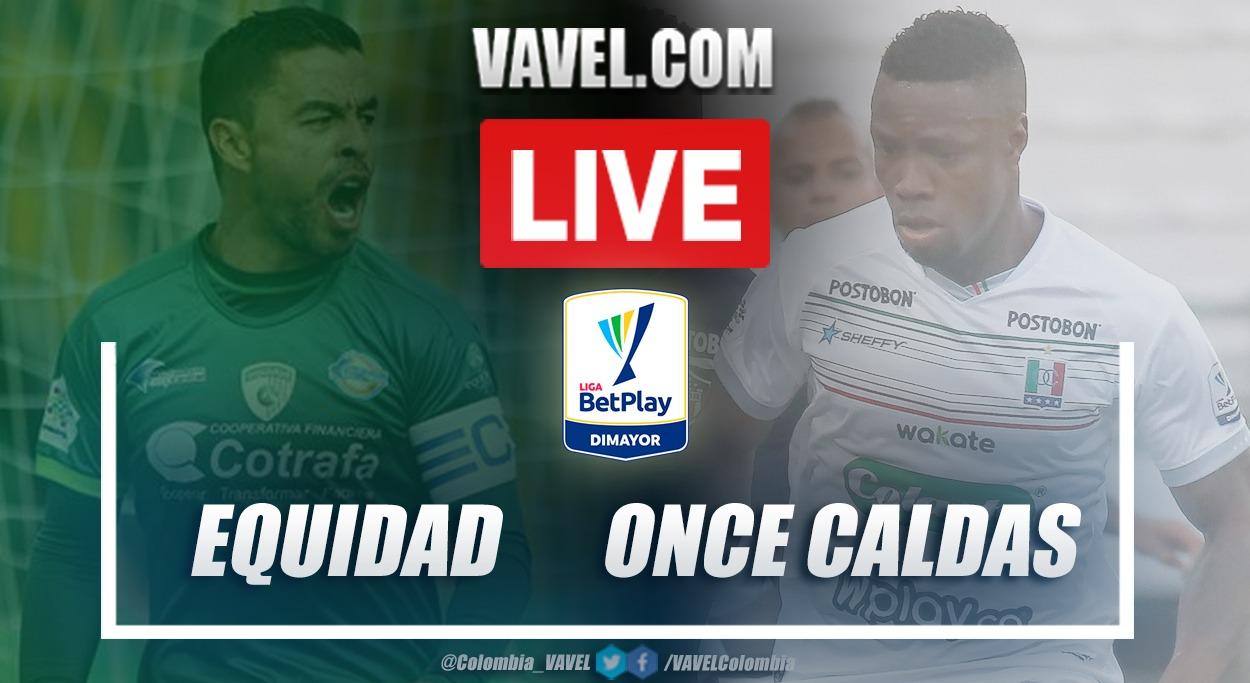 Resumen La Equidad vs Once Caldas (0-0) en la fecha 8 por Liga BetPlay 2021-I
