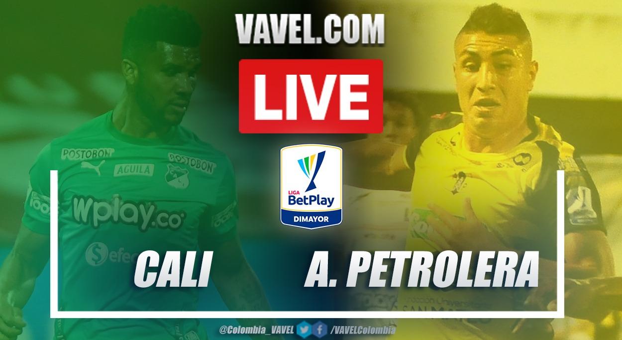 Resumen Deportivo Cali vs Alianza Petrolera (1-1) en la fecha 8 por Liga BetPlay 2021-I