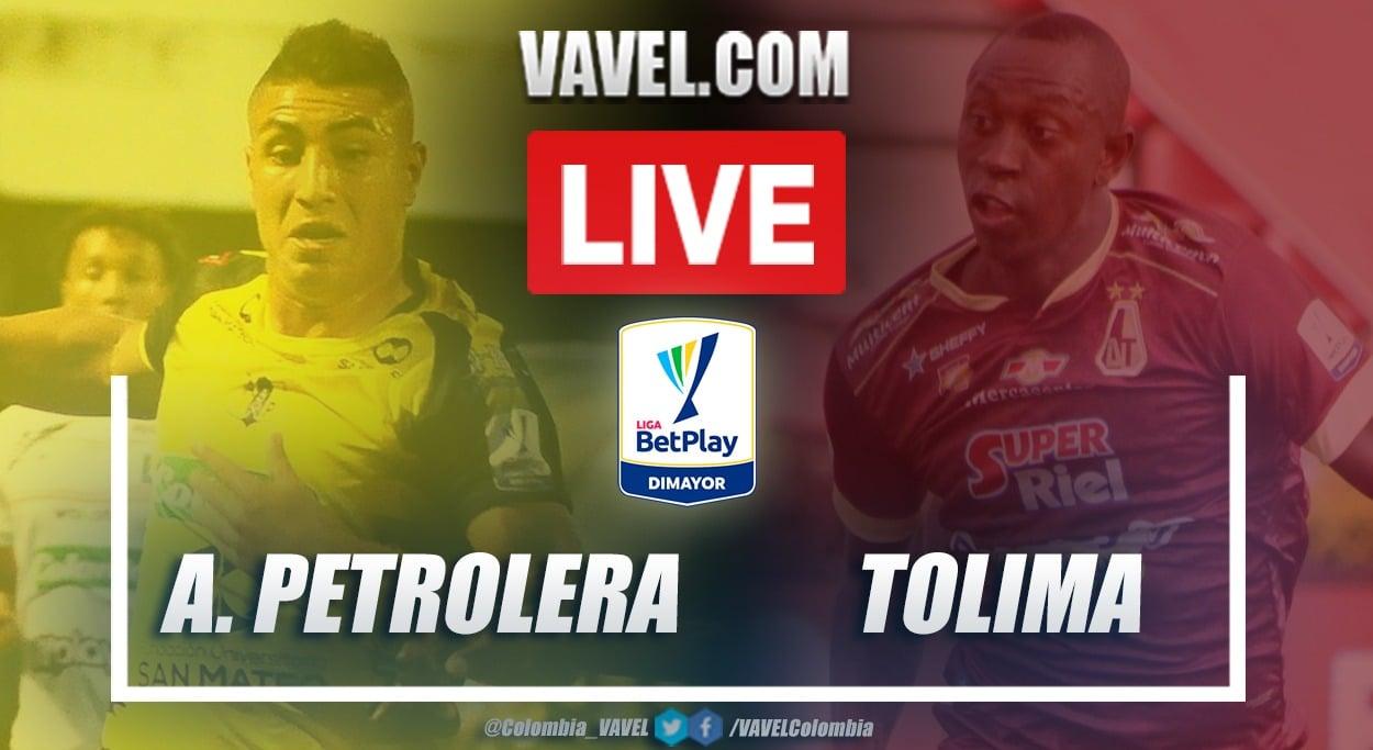 Resumen de Alianza Petrolera vs Tolima (0-5) en la fecha 9 por Liga BetPlay 2021-I