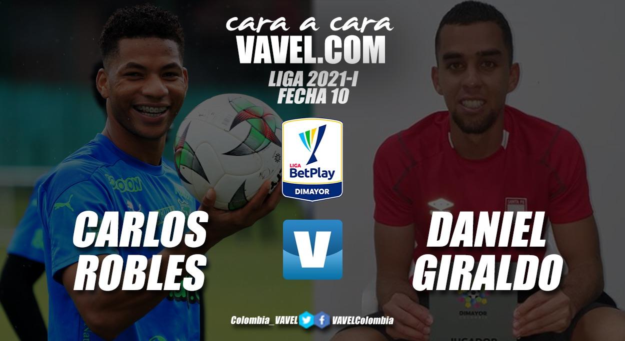 Cara a cara: Carlos Robles vs. Daniel Giraldo