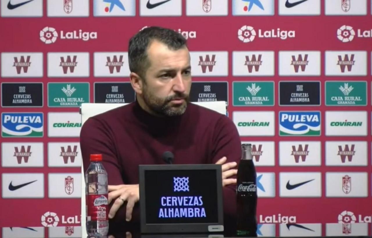 """Diego Martínez: """"La victoria es tremendamente importante por las circunstancias"""""""