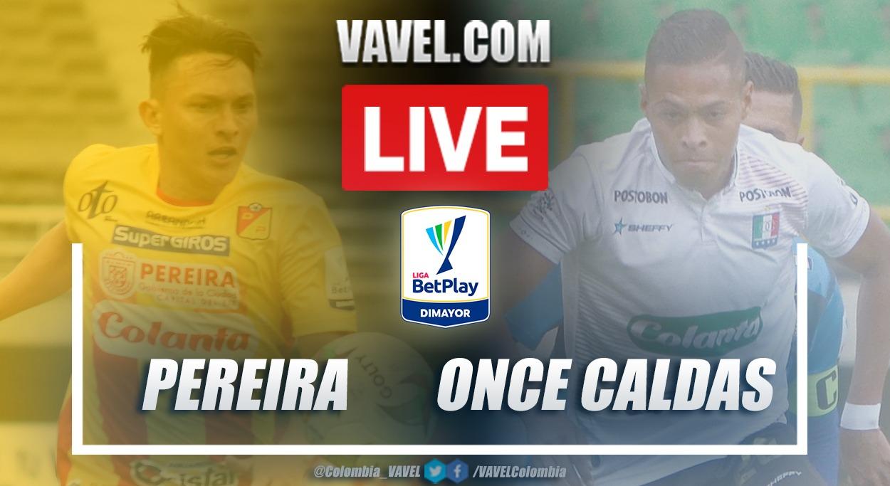 Resumen Deportivo Pereira vs Once Caldas (2-0) en la fecha 10 por Liga BetPlay 2021-I