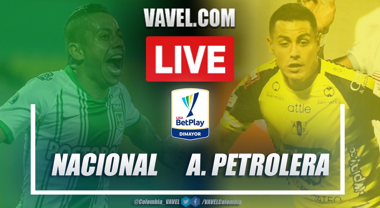 Resumen Atlético Nacional vs Alianza Petrolera (5-0) en la fecha 10 por Liga BetPlay 2021-I