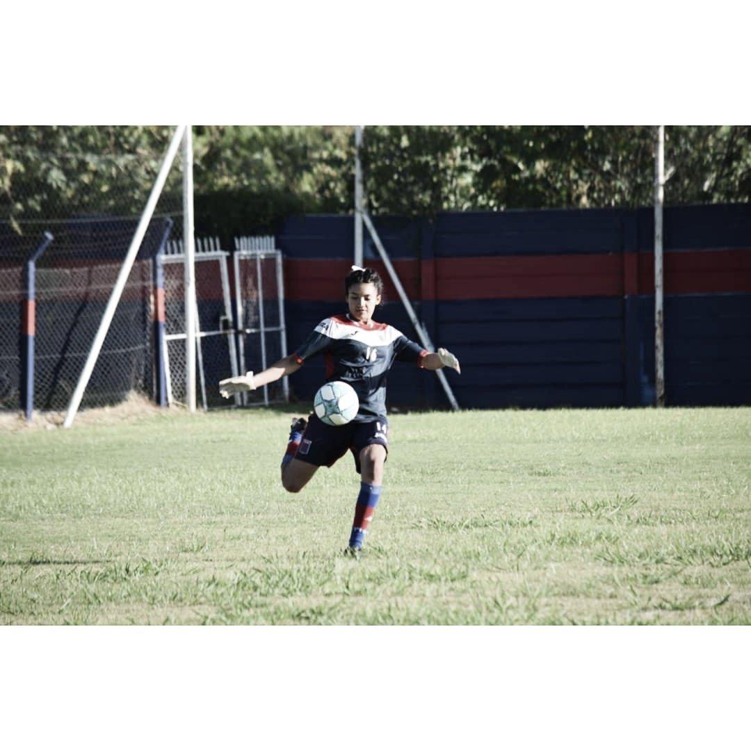 """Micaela Ayala: """"Este año espero afianzarme en el arco de Tigre, es un sueño y quiero defenderlo con todo"""""""
