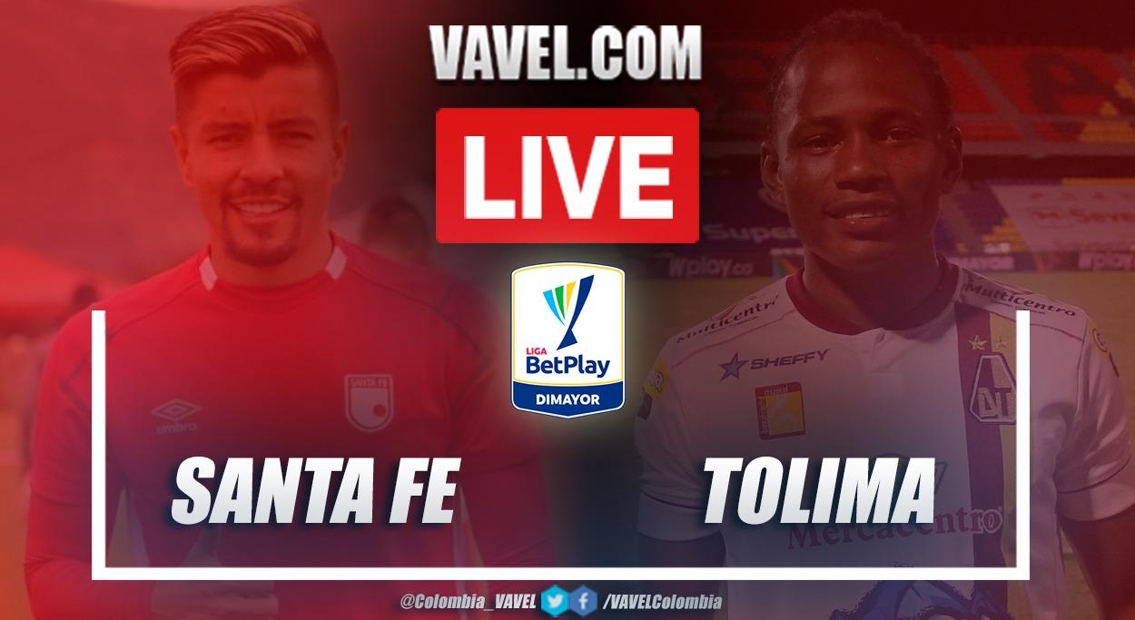 Resumen Santa Fe vs Tolima (3-2) en la fecha 2 por Liga BetPlay 2021-I
