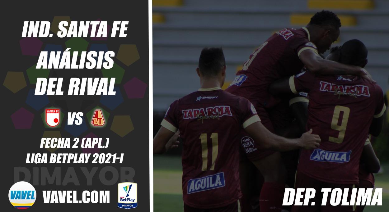 Independiente Santa Fe, análisis del rival: Deportes Tolima (Fecha 2, Liga 2021-I)