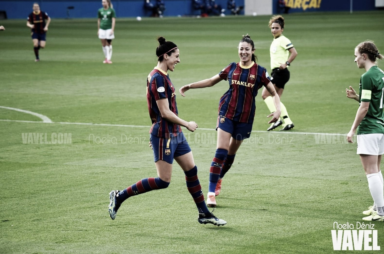 El Barça femenino firma la mejor marca goleadora de su historia