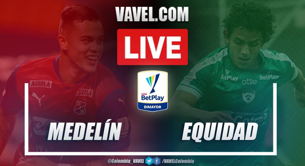 Resumen Medellín vs Equidad (1-1) en la fecha 11 por Liga BetPlay