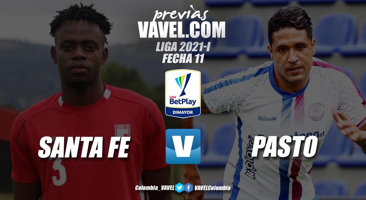 Previa Independiente Santa Fe vs. Deportivo Pasto: el 'expreso rojo', en busca del liderato