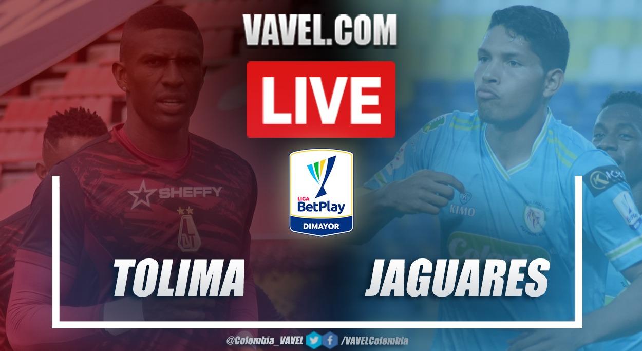 Resumen Tolima vs Jaguares (3-2) en la fecha 12 por Liga BetPlay 2021-I