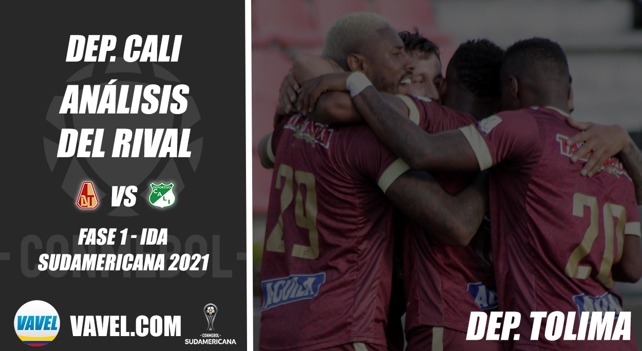 Deportivo Cali, análisis del rival: Deportes Tolima (Fase 1 - ida, Sudamericana 2021)