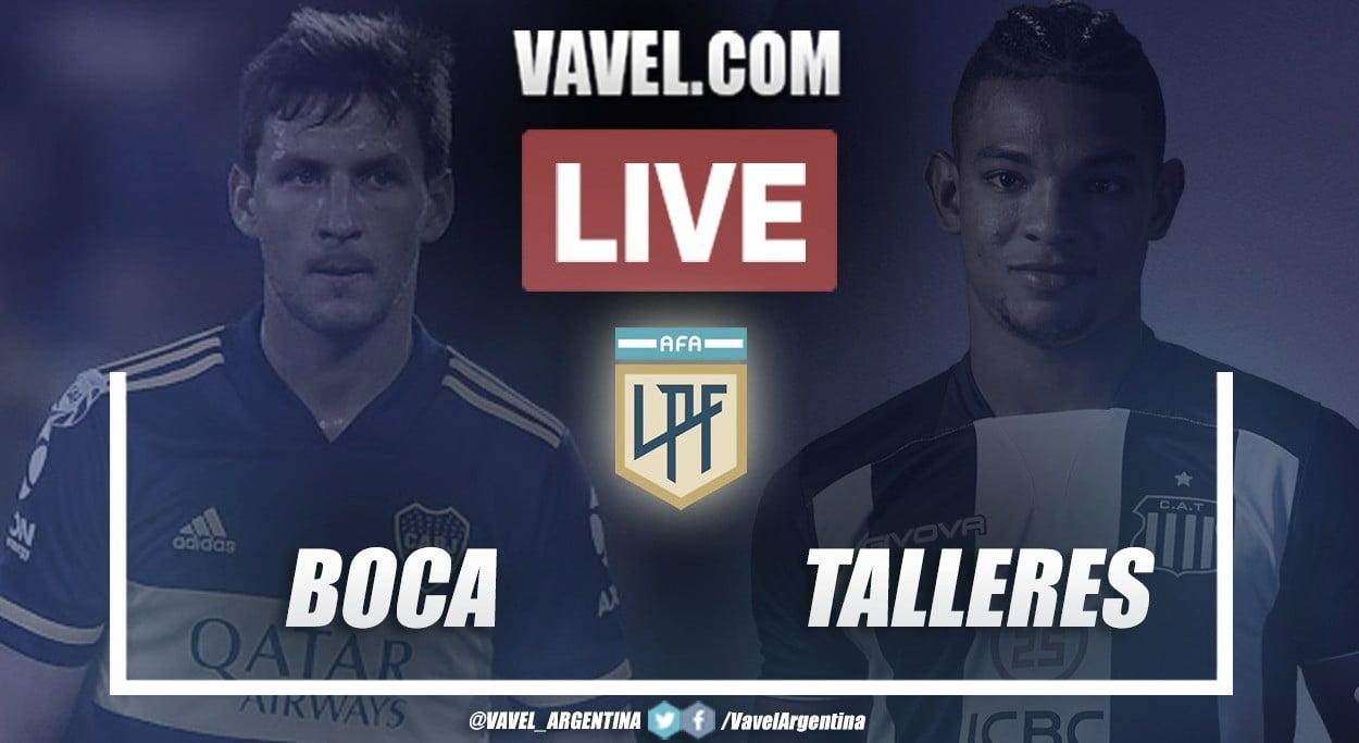 Resumen Boca Juniors vs Talleres de Córdoba (1-2) en la fecha 6 por Copa de la Liga Profesional 2021