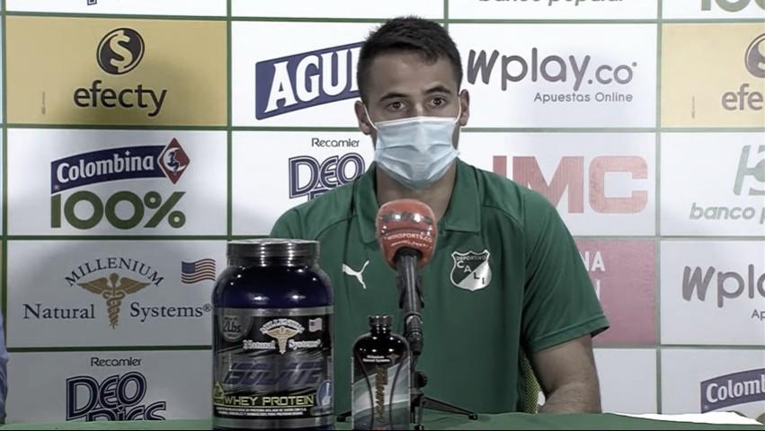 """Guillermo De Amores: """"Esto es del grupo, siempre hay uno que saca la cara por el equipo"""""""