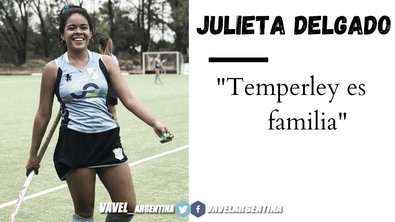 "JulietaDelgado: ""Elclub seconvirtióen mi segunda casa"""