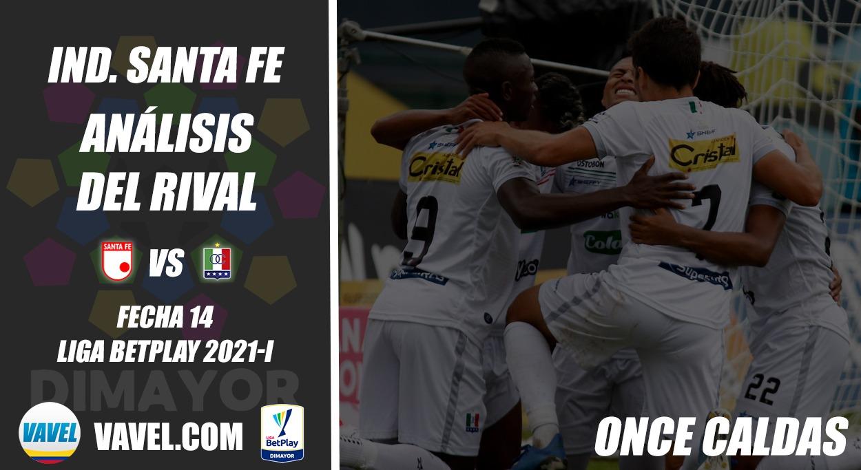 Independiente Santa Fe, análisis del rival: Once Caldas (Fecha 14, Liga 2021-I)