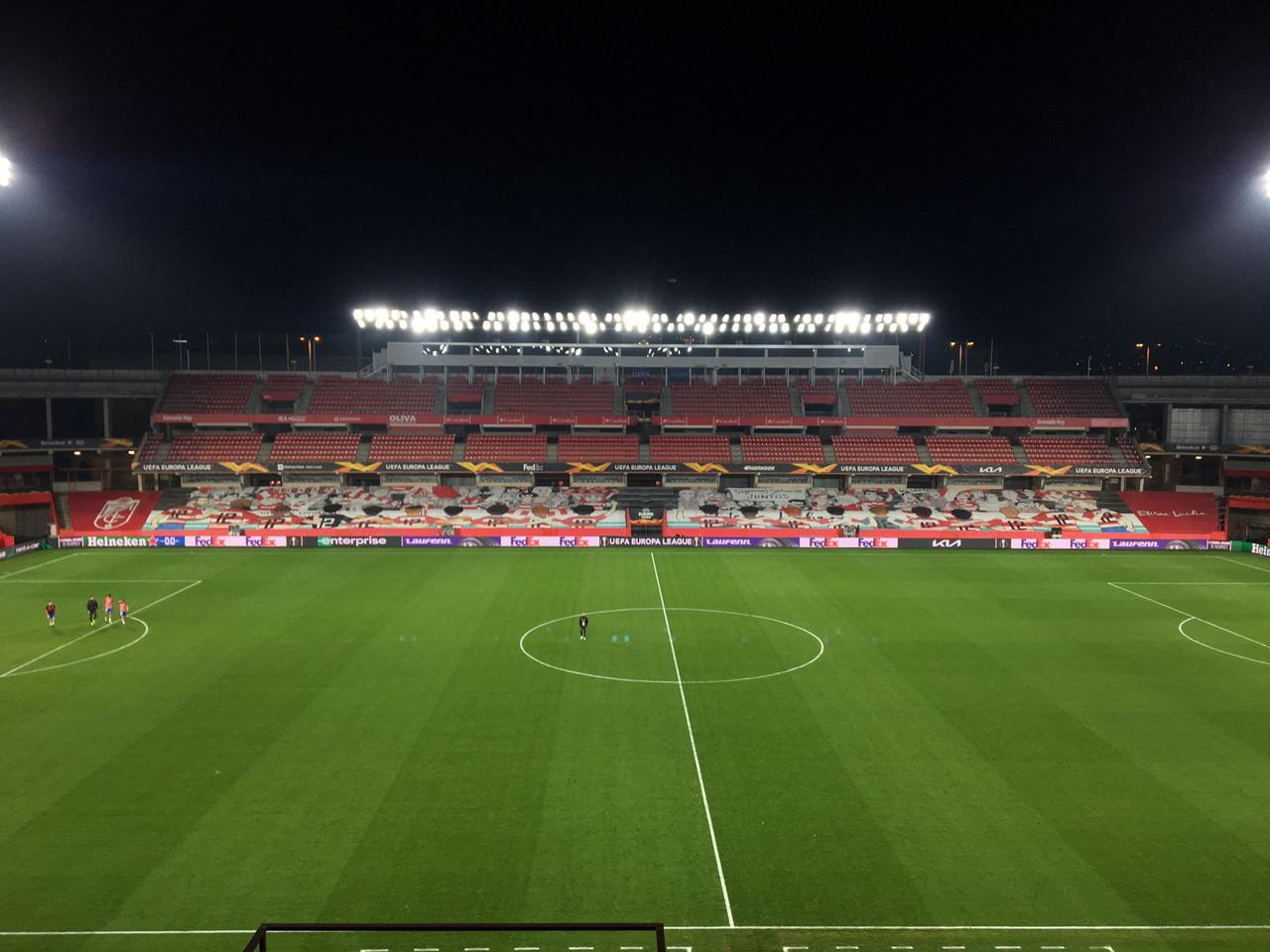 El Granada CF - Manchester United se jugará en Los Cármenes