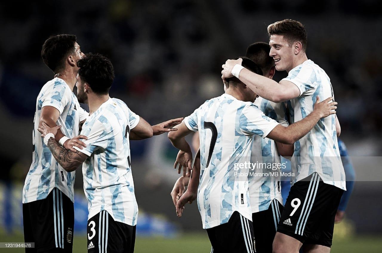 Amistoso Sub 23: Argentina le ganó a Japón