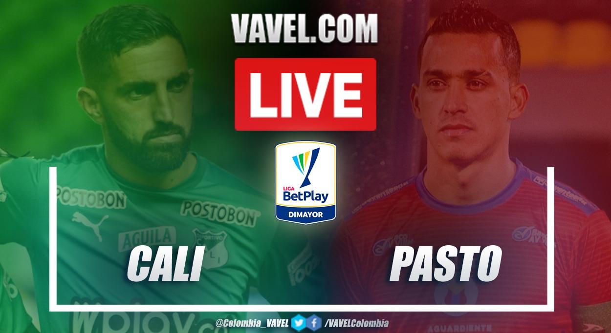 Resumen Cali vs Pasto (1-1) en la fecha 15 por Liga BetPlay 2021-I