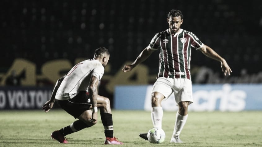 Com gols dos artilheiros, Fluminense e Vasco ficam no empate pelo Cariocão