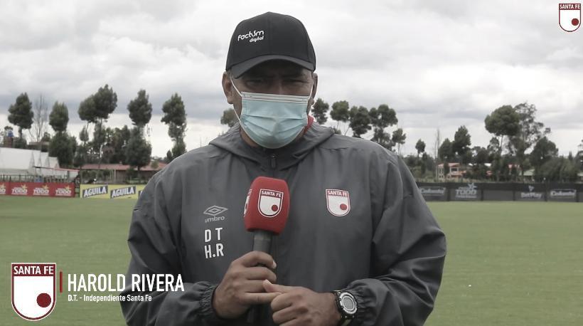 """Harold Rivera: """"No será un partido fácil pero queremos ganar"""""""