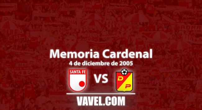 Memoria cardenal: triunfo de Santa Fe ante Pereira y clasificación a Copa Libertadores