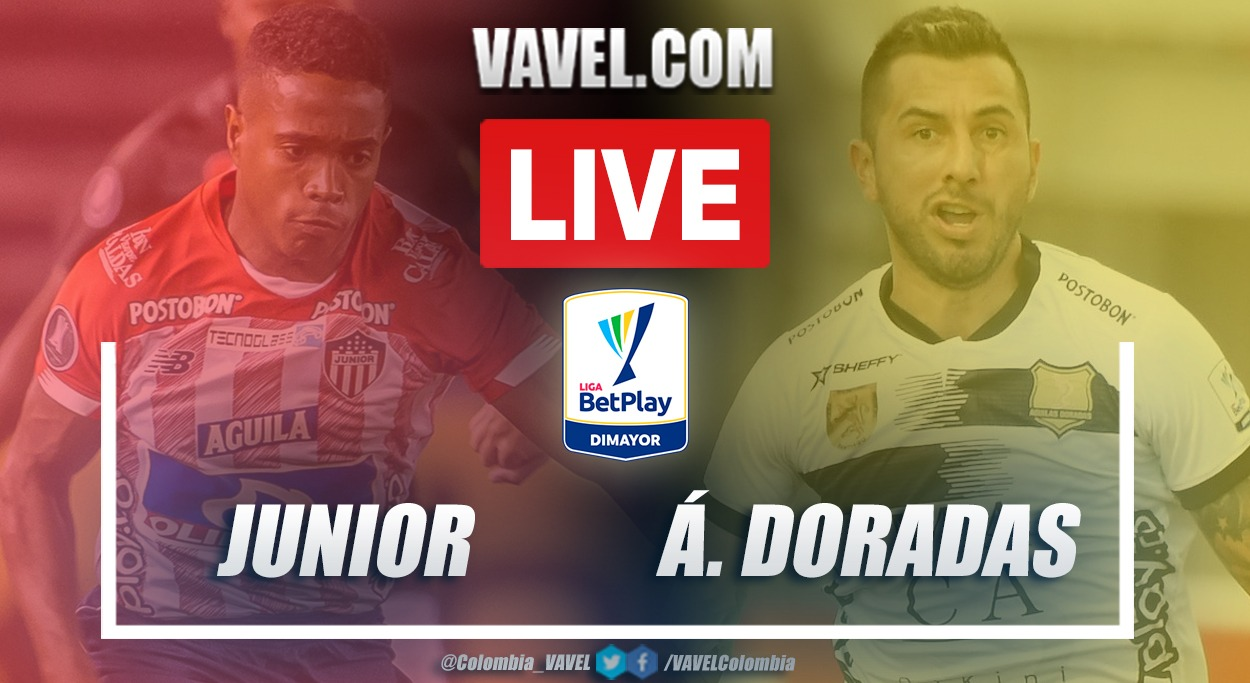 Resumen Junior vs Águilas Doradas (0-0) en la fecha 17 por Liga BetPlay 2021-I
