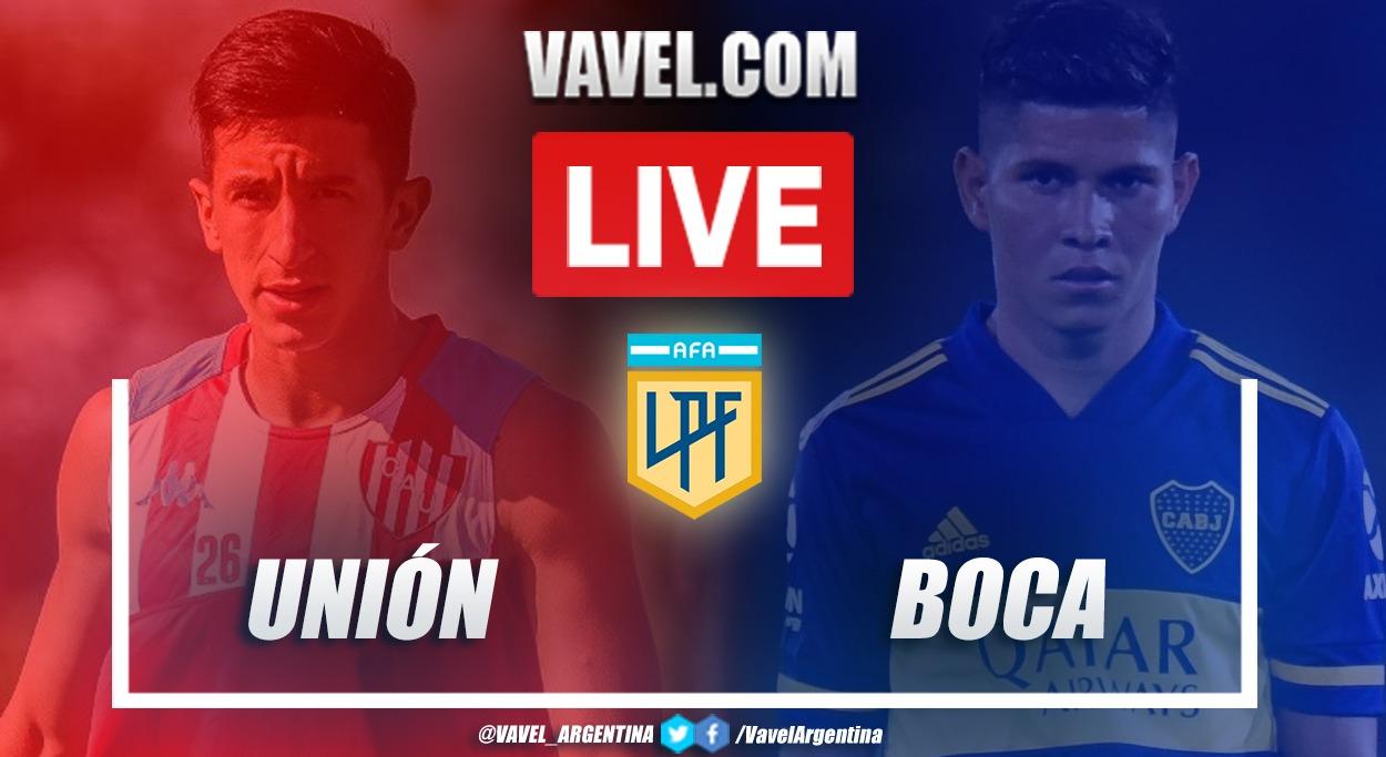 Resumen Unión vs Boca (1-0) en la fecha 9 de la Copa de la Liga Profesional 2021