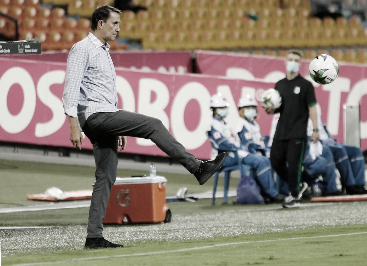 """Alexandre Guimarães: """"Estamos convencidos de conseguir la victoria y avanzar"""""""