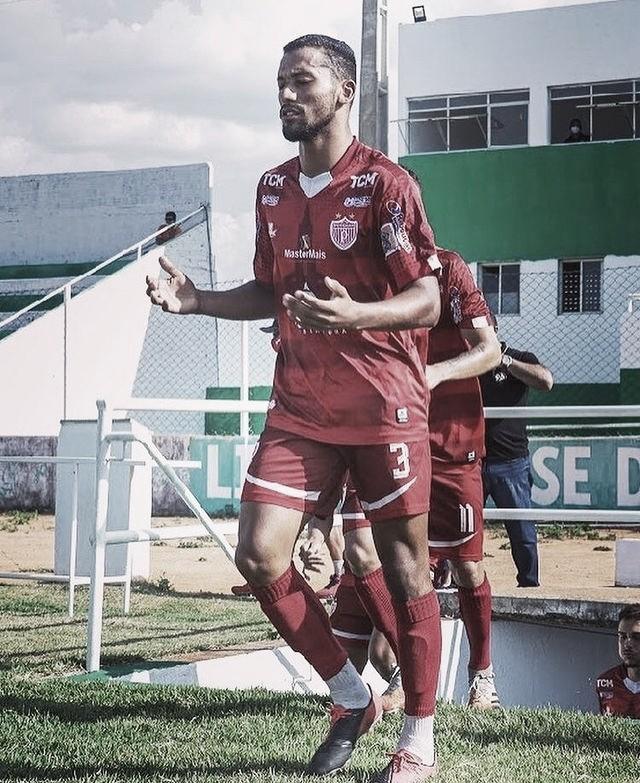 Autor primeiro gol do Potiguar na temporada, Jhean Santos se destaca contra o Palmeira e projeta jogo difícil contra o Força e Luz