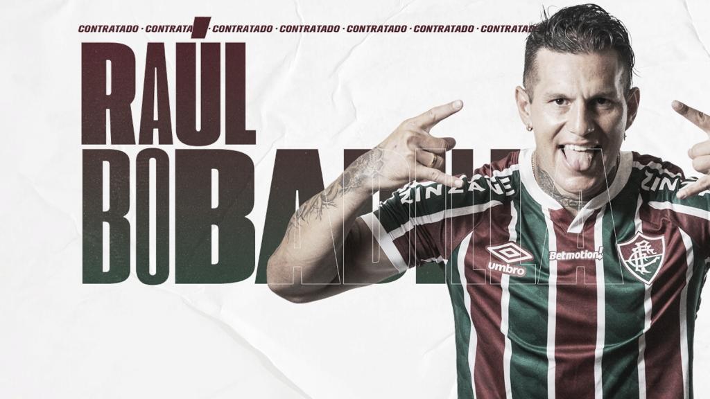Atacante Raúl Bobadilla é anunciado pelo Fluminense