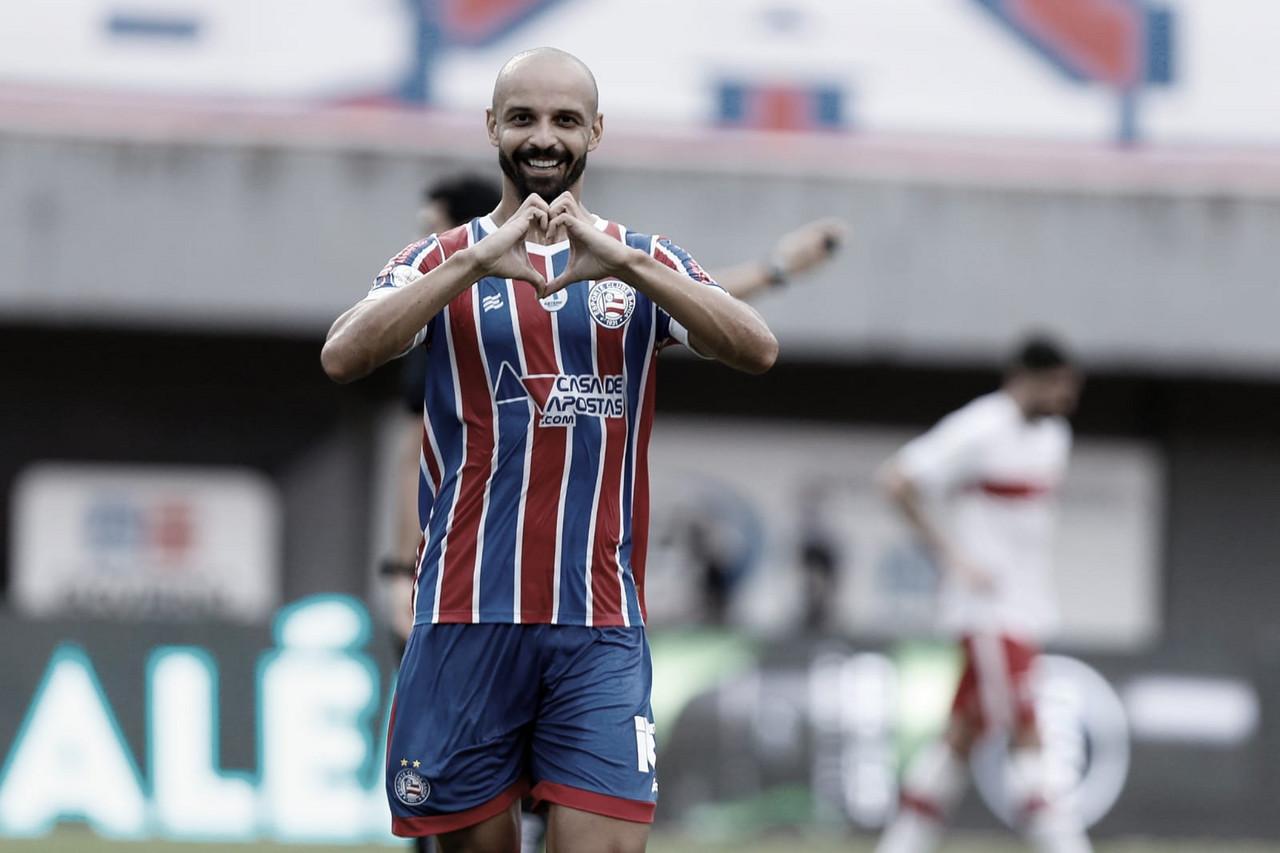 Show tricolor! Bahia goleia CRB e avança às semifinais da Copa do Nordeste