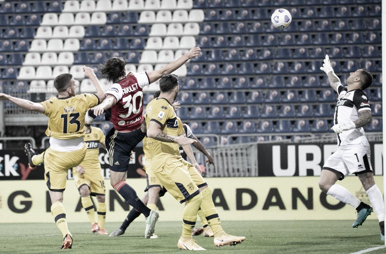 Cagliari busca virada impressionante no fim diante do Parma e ganha sobrevida contra queda
