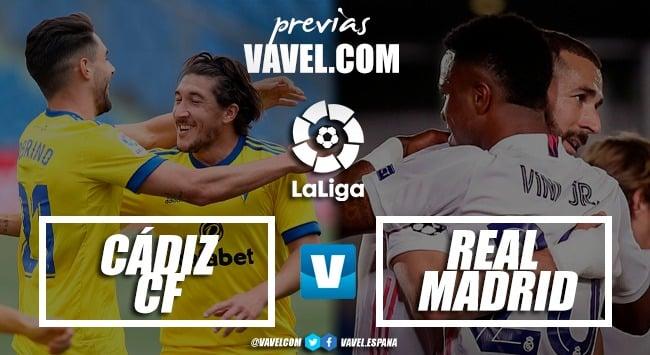 Previa Cádiz - Real Madrid: rozando la permanencia