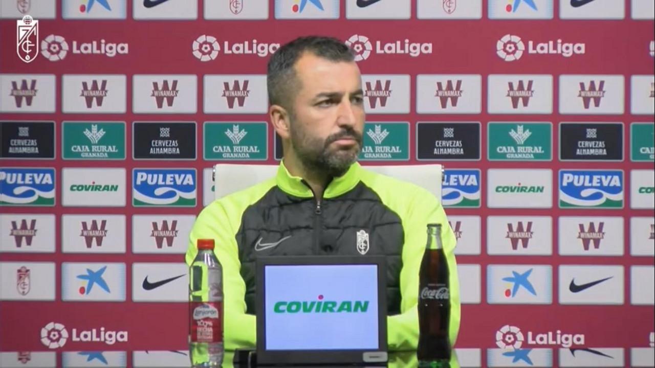 """Diego Martínez: """"El Eibar es un equipo muy intenso"""""""