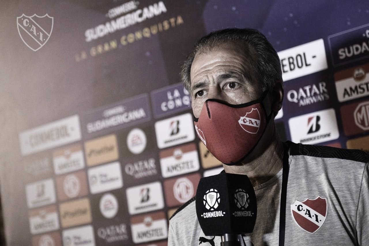 """Piccoli tras la victoria de Independiente en Bolivia: """"Nos vamos muy conformes"""""""