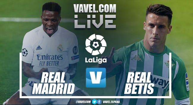 Resumen de Real Madrid vs Betis en LaLiga Santander (0-0)