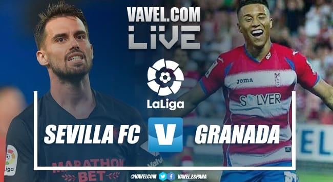 Resumen Sevilla vs Granada (2-1) en LaLiga 2021
