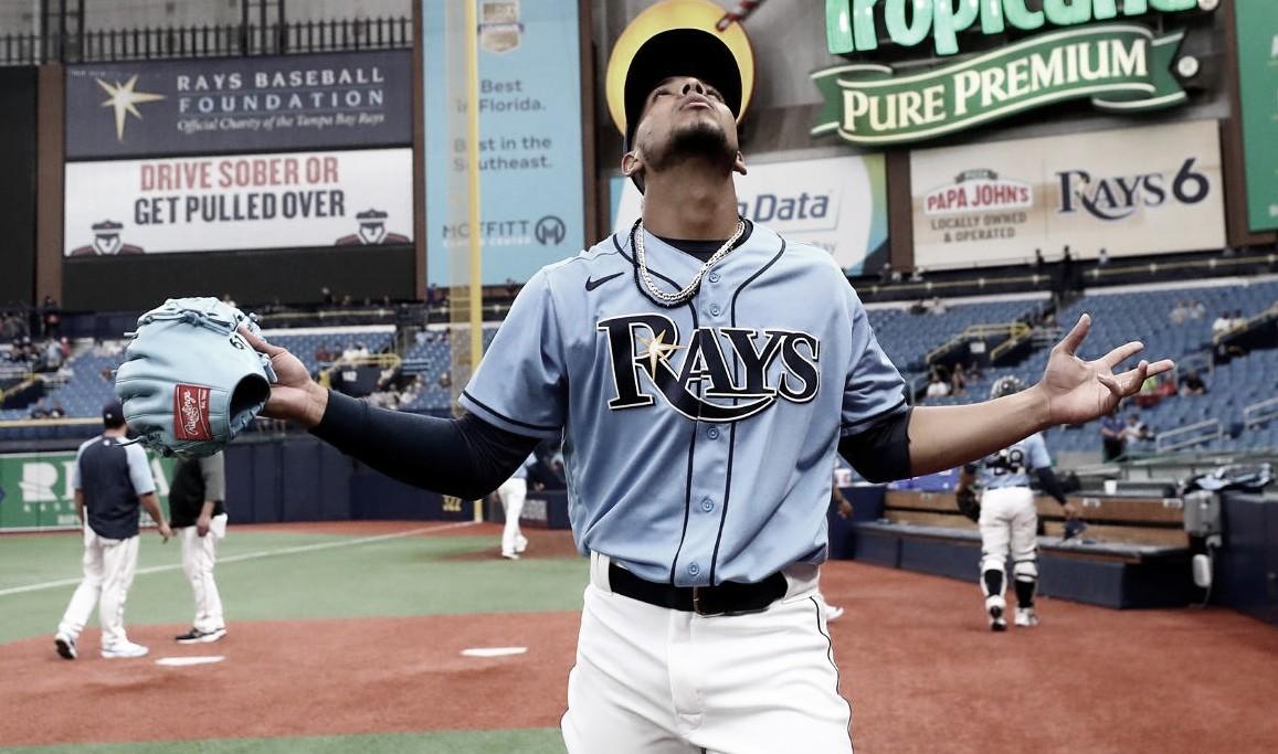 Luis Patiño se estrena con los Rays de Tampa Bay