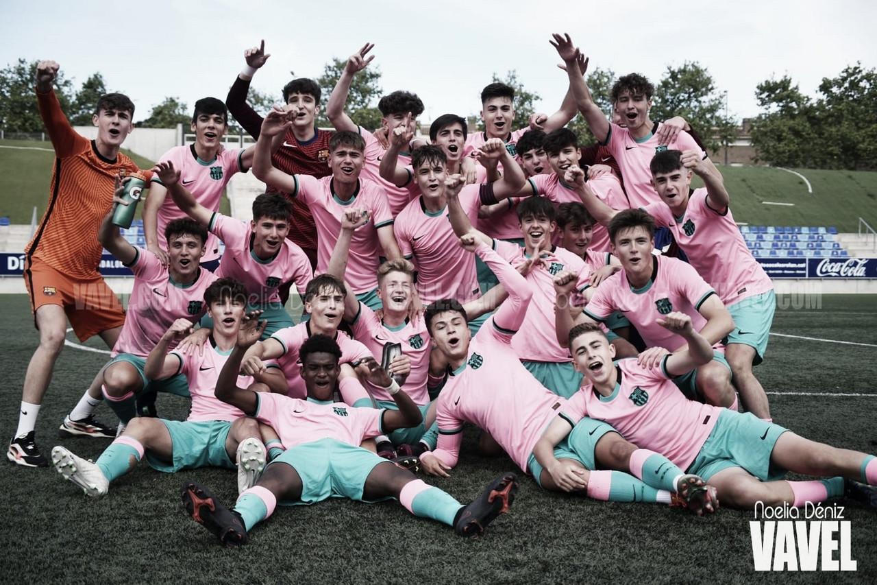 El FCB Juvenil B vuelve a reinar en la Liga Nacional