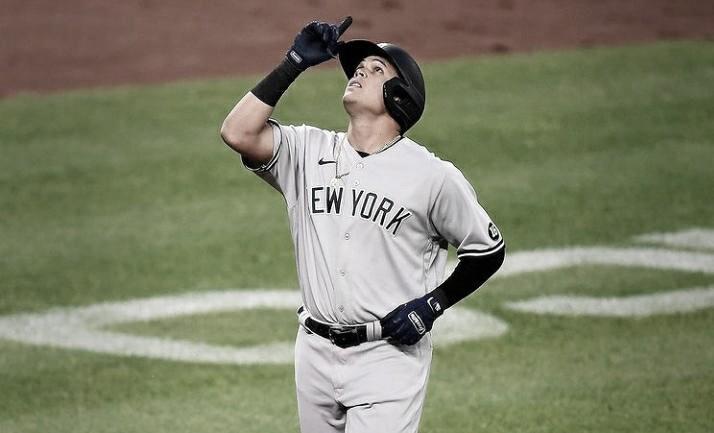 Urshela conecta cuadrangular de tres carreras y los Yankees toman la delantera ante los Orioles