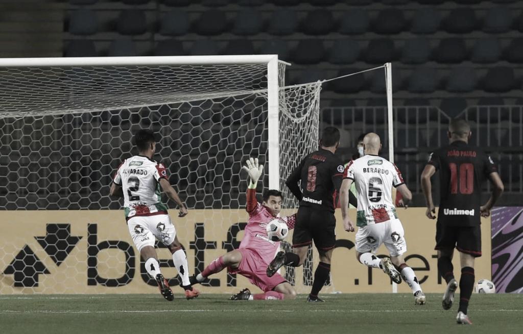 Com gol de Zé Roberto, Atlético-GO bate Palestino pela Sul-Americana