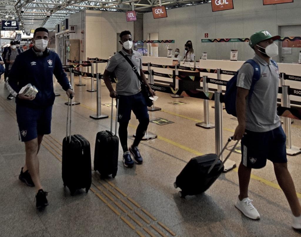 Sem Egídio e Hudson, Fluminense embarca para Barranquilla
