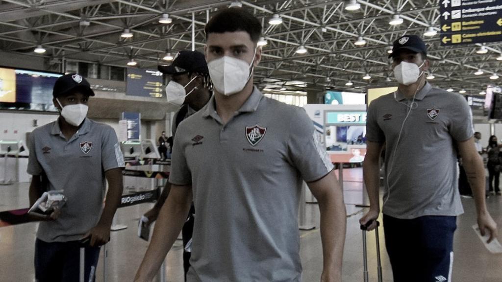 Fluminense fecha preparação e embarca para Guayaquil