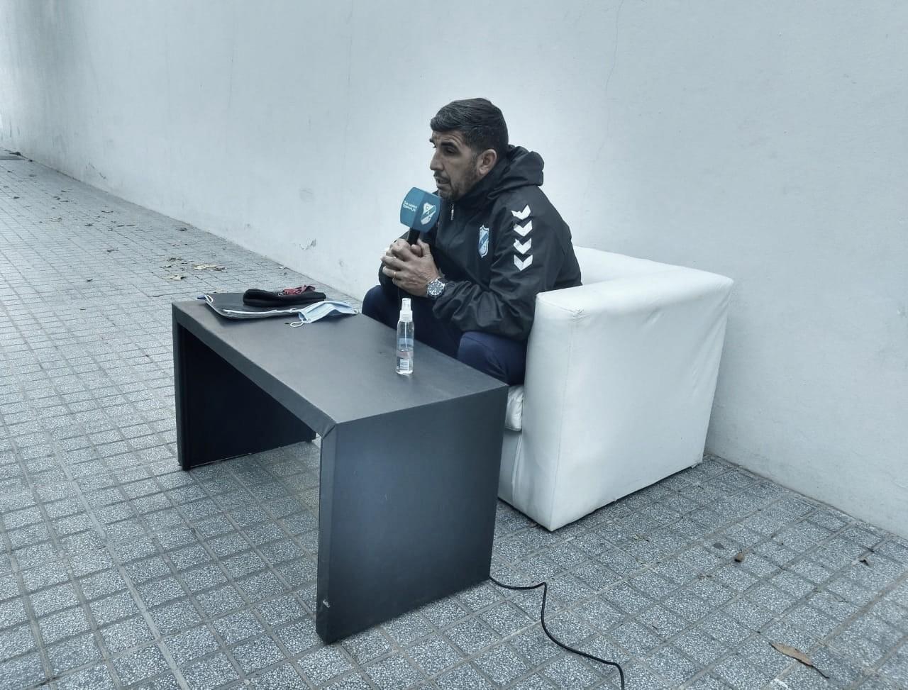 Fernando Ruiz: ''El resultado es una consecuencia de lo que uno provoque en cancha''