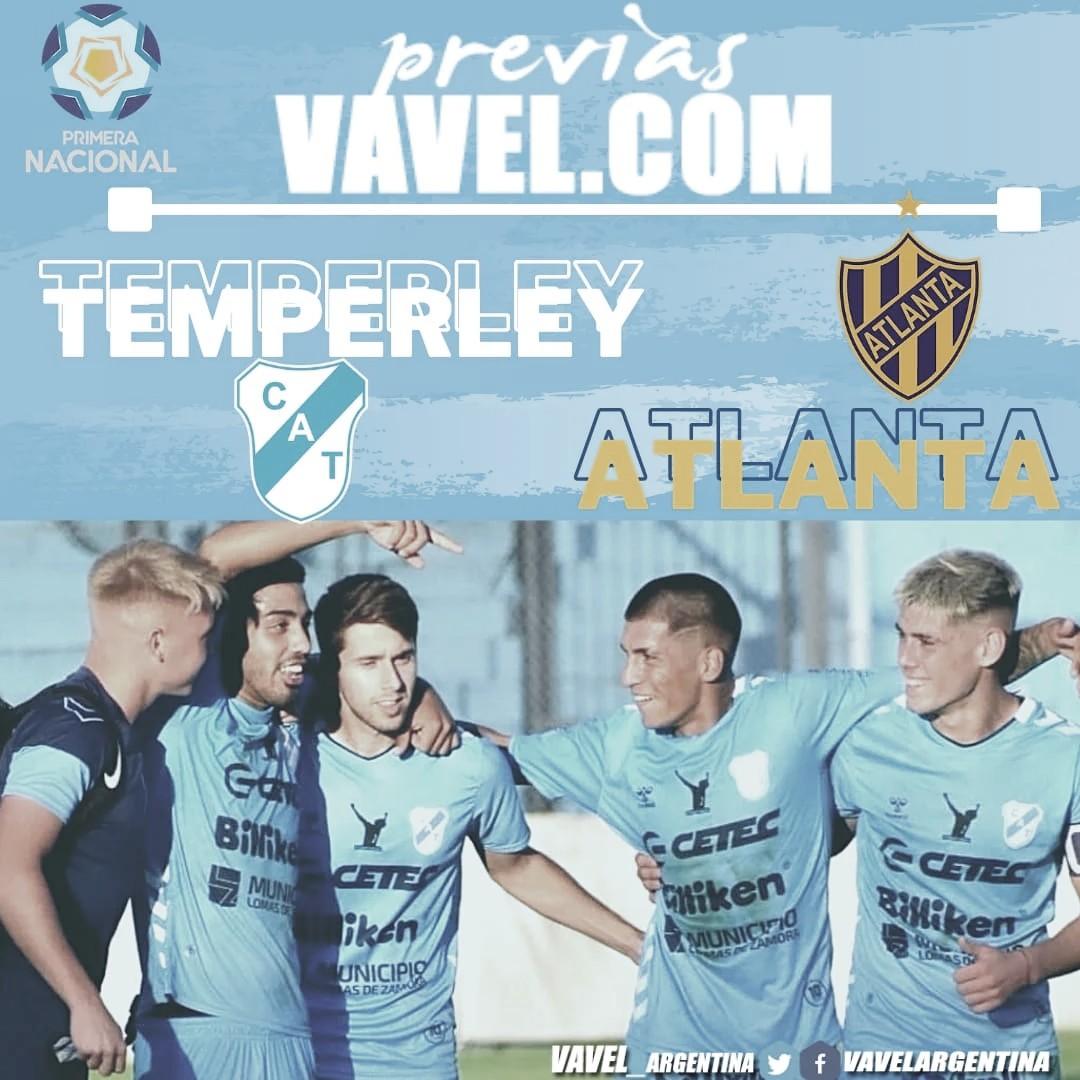 Temperley se medirá ante un duro rival como lo es Atlanta
