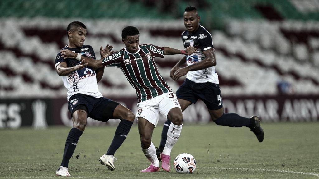 Fluminense joga mal, perde para Junior Barranquilla e não garante vaga antecipada nas oitavas