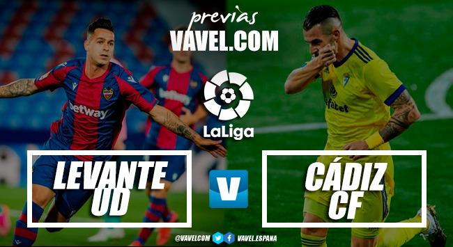 Previa Levante UD – Cádiz CF: final tranquilo para una temporada de ensueño
